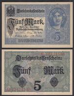 Darlehnskassenschein 5 MARK 1917 8-stellig Ros. 54c XF (2)  (27805 - Unclassified