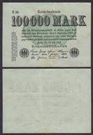 100.000 100000 Mark 1923 Ro 90a Pick 100 - FZ: E BZ: 56 VF (3)    (28361 - Unclassified