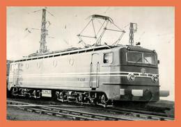 A597 / 045 Locomotive Train Carte Pub LA VIE DU RAIL - Unclassified