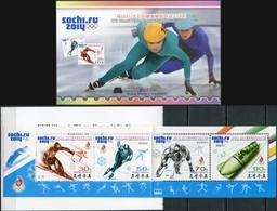 Korea 2014. Winter Olympic Games, Sochi 2014 (MNH OG) StampPack - Korea (Nord-)