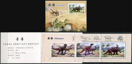 Korea 2011. Dinosaurs (MNH OG) StampPack - Korea (Nord-)