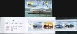 Korea 2013. Ships (MNH OG) StampPack - Korea (Nord-)