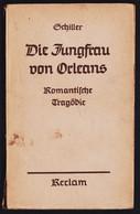 Reclam Heft  -  Die Jungfrau Von Orleans  -  Von Friedrich Von Schiller  -   Ca. 1940 - Old Books