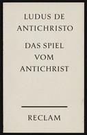 Reclam Heft  -  Das Spiel Vom Antichrist  -  Von Ludus De Antichristo  -  1968 - Old Books