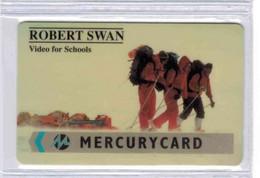 MERCURY CARD - ROBERT SWAN - Voir Scans - [ 4] Mercury Communications & Paytelco