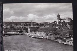 """Dampfer """"Schaffhausen"""" In Schaffhausen - Steamers"""