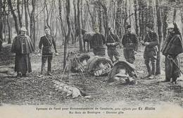 Paris16 )  BOIS De BOULOGNE - Epreuve De Fond Pour Reconnaissances De Cavalerie Prix Offet Par LE MATIN - Dernier Gite - District 16