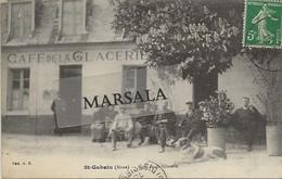 CPA  Saint Gobain Café De La Glacerie - Other Municipalities