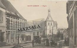 CPA  Saint Gobain L'église - Other Municipalities