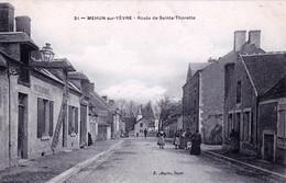 18 - Cher - MEHUN Sur YEVRE - Route De Sainte Thorette - Huilerie - Mehun-sur-Yèvre