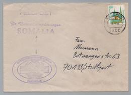 FELDPOST 5200 - SOMALIA / 1994 DEUTSCHES UNTERSTÜTZUNGSKONTINGENT, BRIEF ==> DEUTSCHLAND (ref 8510f) - Lettres & Documents