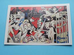 ROKOVCI > Akademie Oostende ( BALKANACTIE Van De Gemeenten ) Met Steun Van DHL ( Zie / See Photo ) ! - Paintings
