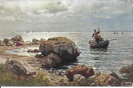 Hans Gude - CPA Allemande Datée De 1930 - Paintings