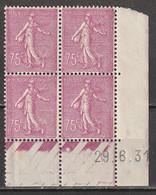 France Coin Daté N° 202 * 29/06/1931 Semeuse Lignée - ....-1929