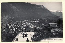 AA116 ♥️ INTERLAKEN Kt Bern HEIMWEHFLUH Terrasse Restaurant 1910s  Photographie GABLER 8378 Suisse Switzerland Schweiz - BE Berne