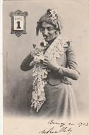 ***  Premier Avril 1903 - Travesti - Par Bergeret TTBE Timbrée - 1° Aprile (pesce Di Aprile)