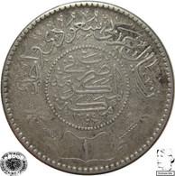 LaZooRo: Saudi Arabia 1 Riyal 1935 XF - Silver - Saudi Arabia