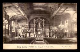 75 - PARIS 6EME - COLLEGE STANISLAS - LA CHAPELLE DU PETIT COLLEGE - District 06