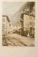 Cartolina - Svizzera - Capolago - Contrada Maggiore - 1900 Ca. - Zonder Classificatie