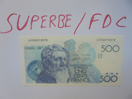 +++ 500 FRANCS 1982-1998+++QUALITE SUPERBE/FDC (B.24) - 500 Francs