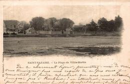 ST NAZAIRE  La Plage De Villes Martin - Saint Nazaire
