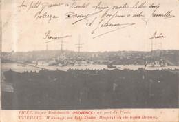 LE PIREE  - ( GRECE )Super Dreadnougth Français Provence Au Port Du Pirée - 1916 - Griekenland