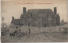 50 Environs De SARTILLY  Le Château De Bréquigny - Other Municipalities