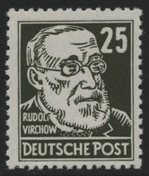 DDR 1952 - Mi-Nr. 334 Va XI ** - MNH - BPP-Fotobefund - Köpfe II - Ongebruikt