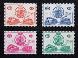 CHEMINS  DE  FER    TR 369 / 72    NEUFS  **   ( 1960 )   COB  :  180,00 €   !!! - 1952-....