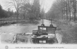Han Sur Lesse (Belgique) - La Lesse Et L'écluse à La Sortie De La Grotte - Rochefort