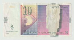 Used Banknote Macedonia 10 Denari 2011 - Macedonia