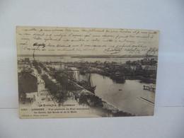 LA BRETAGNE PITTORESQUE LORIENT 56 MORBIHAN VUE GENERALE DU PORT MARCHAND DU COUR DES QUAIS ET DE LA RADE CPA 1904 - Lorient