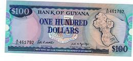 Billet 100 Dollars 1989 Guyana - Guyana