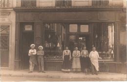 Dépt 94 - NOGENT-SUR-MARNE (130, Grande Rue Charles De Gaulle) - CARTE-PHOTO Devanture Magasin Édouard KIEL - Nogent Sur Marne