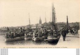 D35  SAINT MALO  Escadrille De Contre Torpilleurs Dans Le Bassin à Flots - Saint Malo