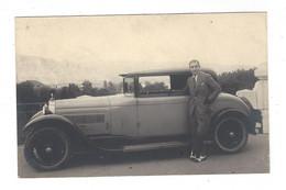 Automobile Bugatti  Paul Etienne  Photo Paul Jacquin ( Carte Photo ) - Unclassified