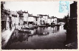 X13253 ⭐ MARTIGUES Bouches-du-Rhone Quartier Le BRESCON La VENISE Provençale 20-11-1948 Carte-Bromure TARDY - Martigues
