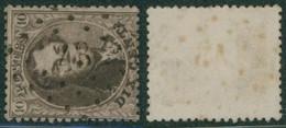 "Médaillon Dentelé - N°14 Obl Pt 43 (Lp 43) ""Blaton"" - 1863-1864 Medaillons (13/16)"
