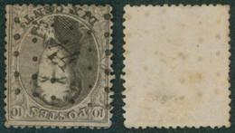"Médaillon Dentelé - N°14 Obl Pt 44 (Lp 44) ""Bloemendael"" - 1863-1864 Medaillons (13/16)"