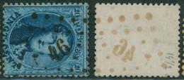 """Médaillon Dentelé - N°15 Obl Pt 46 (Lp 46) """"Boom"""" . Superbe - 1863-1864 Medaillons (13/16)"""