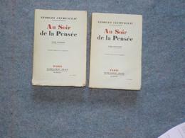 G. Clemenceau  Au Soir De La Pensée - History