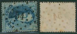 """Médaillon Dentelé - N°15 Obl Pt 54 (Lp 54) """"Brasschaet"""" - 1863-1864 Medaillons (13/16)"""