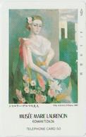 ART - JAPAN-037 - PAINTING - MUSÉE MARIE LAURENCIN - Painting