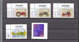 Deutschland BRD  Gestempelt 3618-3622 Alle Neuausgaben 5.8.2021 - Gebruikt