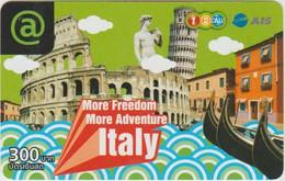 STATUE - THAILAND - PREPAID - ITALY RELATED - VENEZIA - PISA TOWER - COLOSSEUM - Non Classificati