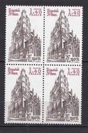 N° 2132 Cathédrale Saint Jean De Lyon. Bloc De 4 Timbres Neuf Impeccable Sans Charnière - Unused Stamps