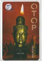 STATUE - THAILAND 05 - 300 UNITS - CANDLE STATUE - Non Classificati