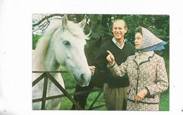 La Reine Elizabeth Et Son Mari - Royal Families