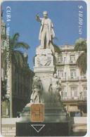 STATUE - CUBA 02 - JOSÉ MARTI - 30.000EX. - Unclassified