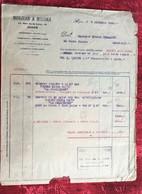 Judaïca 7 -12-1940-Alger R De Lyre-Figues-Morjean/Missika Facture-Document Commercial Algérie Ex Colonie Française-WWII - 1900 – 1949